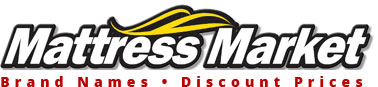 Mattress Market - Brand Names at Discount Prices Logo